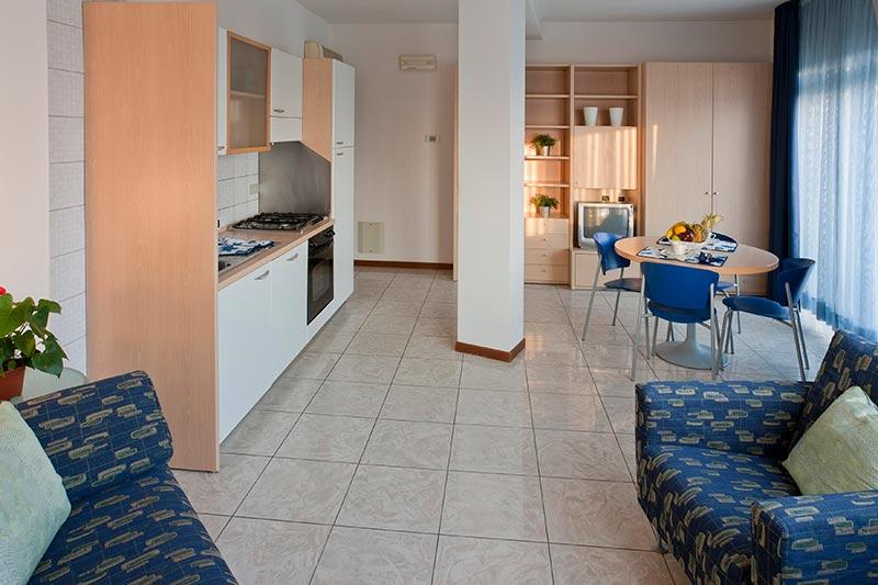 Affitto appartamento monolocale b a sottomarina mare for Monolocale a venezia