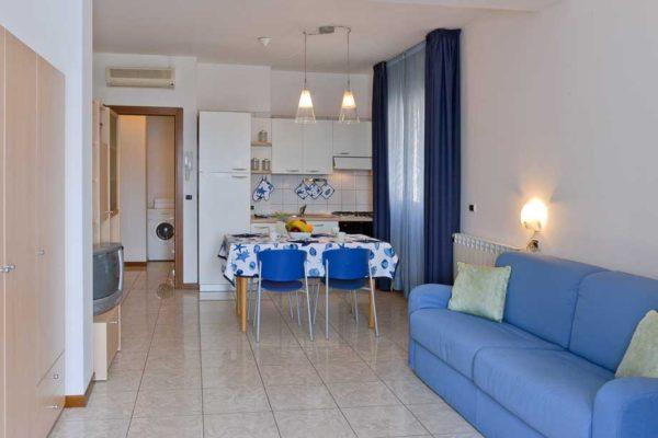 Affitto appartamento monolocale a a sottomarina mare for Monolocale a venezia